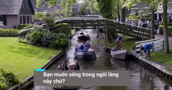 Ngôi làng hơn 700 năm không đường lớn, xe hơi tại Hà Lan