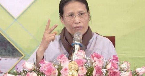 Facebook khóa tài khoản của bà Phạm Thị Yến liên quan đến chùa Ba Vàng