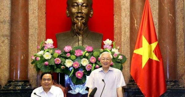 Tổng Bí thư, Chủ tịch nước Nguyễn Phú Trọng: Không thể để đạo đức xã hội xuống cấp