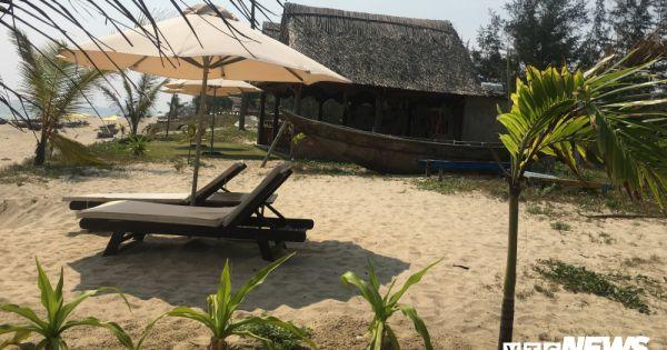 """Công trình trái phép """"mọc như nấm"""" tại bãi biển An Bàng, TP Hội An"""