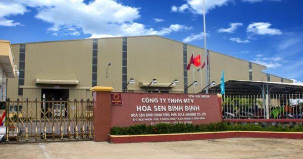 Tập đoàn Hoa Sen dừng hoạt động 70 chi nhánh