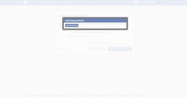 """Facebook """"vô tình"""" thu thập 1,5 triệu liên hệ của người dùng qua email"""