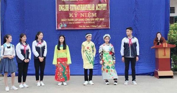 Trường miền núi sáng tạo trong phương pháp dạy - học tiếng Anh