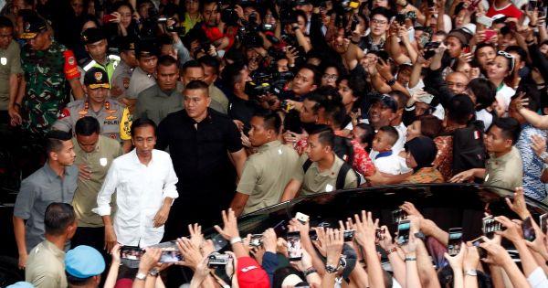 Bầu cử Indonesia: Ông Joko Widodo tuyên bố tái đắc cử Tổng thống