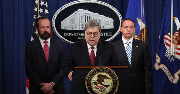 Bộ Tư pháp Mỹ công bố đầy đủ báo cáo điều tra của Robert Mueller