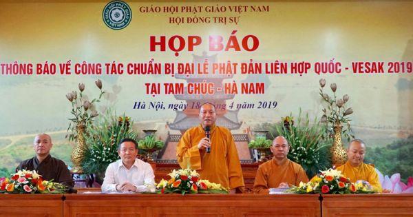 Hơn 20.000 người dự Đại lễ Phật đản Liên Hợp Quốc tại Việt Nam
