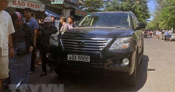 Tài xế xe Lexus tông vào đám tang ở Bình Định bị tạm giam