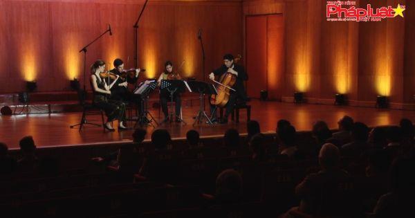 Tứ tấu đàn dây Vera Quartet lần đầu đến Việt Nam