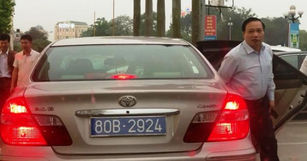 Vụ Phó Bí thư thường trực Tỉnh ủy Ninh Bình sử dụng xe biển 80B: Thu hồi cả 2 biển số