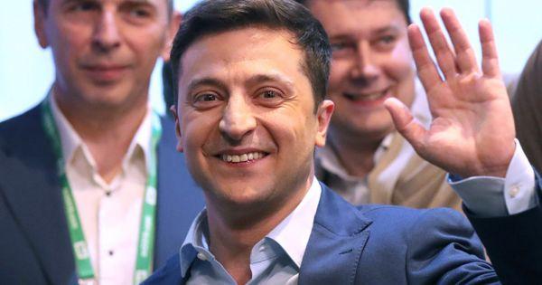 Nga hy vọng cải thiện quan hệ với Ukraine sau khi ông Zelensky đắc cử