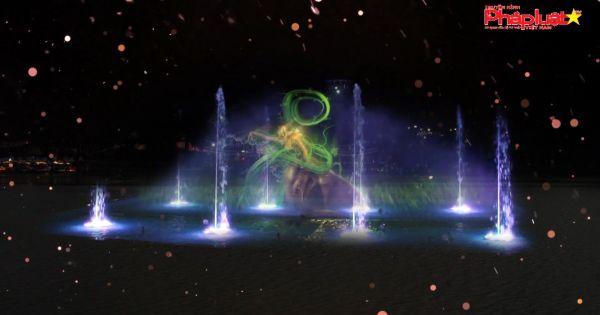 Lễ 30/4, màn hình nước 3D chính thức có mặt tại Việt Nam