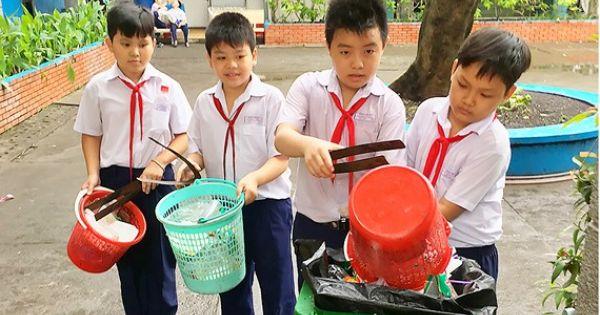 TPHCM tăng cường giáo dục bảo vệ môi trường cho học sinh